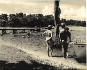 Cypress Cove lakefront in 1961