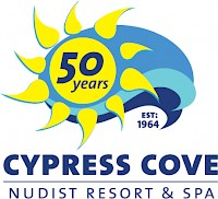 Cypress Cove Nudist Resort - 50 Years logo
